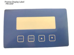 Pristine, Display Label, PRI-PART-DISP,