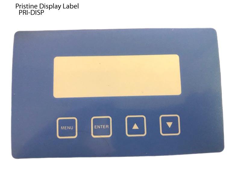Pristine, Display Label, PRI-PART-DISP,